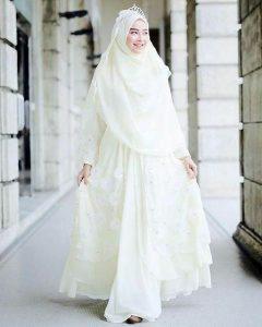 Gaun pengantin syari