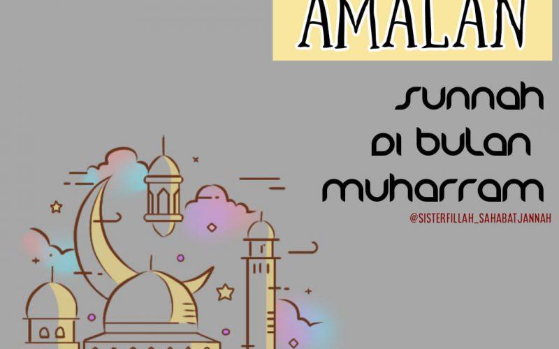 amalan sunnah muharram